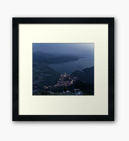 Hearth Of The Horizon Framed Print