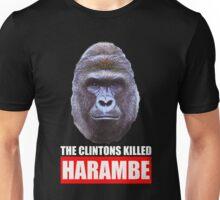 The Clintons Killed Harambe Unisex T-Shirt