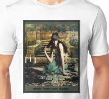 GYPSY TAROT CARD READER; Vintage Print Unisex T-Shirt