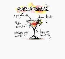 Cosmopolitan Cocktail Illustration with Recipe Tank Top