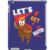 Let's Get Basted Funny Design for Thanksgiving iPad Case/Skin