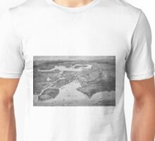 Vintage Pictorial Map of Seattle (1908) Unisex T-Shirt