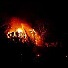 Town Fire by Paul Lubaczewski