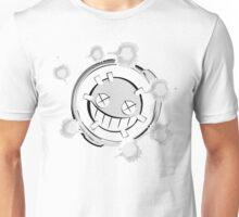 Postmodern Trashcan-Man! Monochrome Light Unisex T-Shirt
