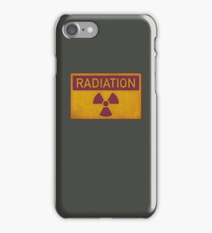Radiation hazard iPhone Case/Skin