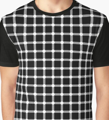 optical illusion points pattern Graphic T-Shirt