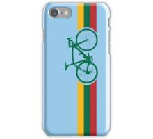 Bike Stripes Lithuanian National Road Race iPhone Case/Skin
