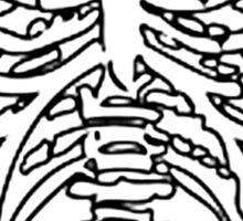 SKELETON TORSO Sticker