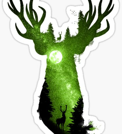 Deep in the Forest Sticker