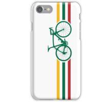 Bike Stripes Lithuanian National Road Race v2 iPhone Case/Skin