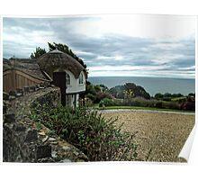 Umbrella Cottage Poster