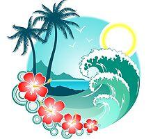 Hawaiian Island 2 by Makanahele