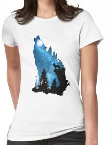 The Howling Wind Womens Fitted T-Shirt