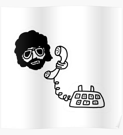 Jeff Lynne's Telephone Poster