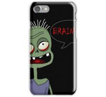 Halloween zombie  iPhone Case/Skin
