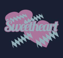 Retro Sweetheart One Piece - Long Sleeve