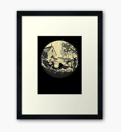 Could be raining Framed Print