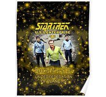 Star Trek Spock Kirk Mc Coy Poster