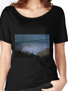 Sunset Waves at Porthmeor Women's Relaxed Fit T-Shirt