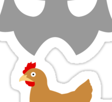 Skyrim Do not kill the chicken Sticker