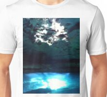 Sunlight Reflections In The Cenote Unisex T-Shirt