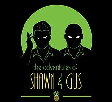 The Adventures of Shawn and Gus by BRDesigns