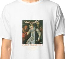 Queen Elizabeth I of England (Old Age) Classic T-Shirt