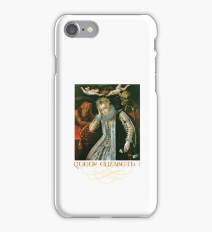 Queen Elizabeth I of England (Old Age) iPhone Case/Skin