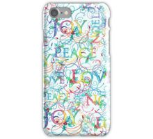 Technicolor Christmas iPhone Case/Skin