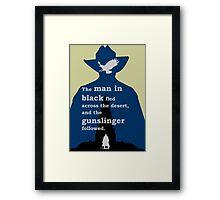 Dark Tower - Gunslinger Framed Print