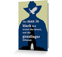 Dark Tower - Gunslinger Greeting Card