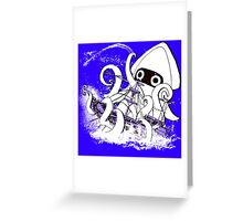Release the Blooper! Greeting Card