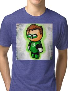 """""""GREEN RING"""" POOTERBELLY Tri-blend T-Shirt"""