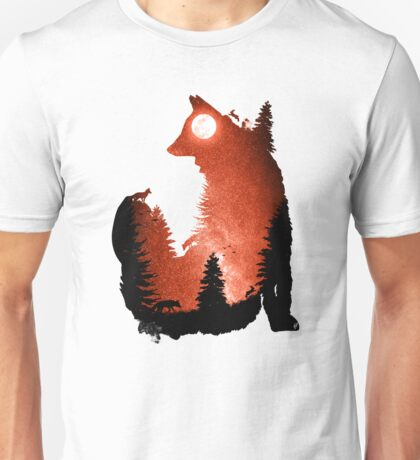 In the Swaying Forest Trees Unisex T-Shirt