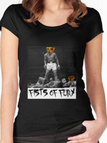 F.O.F (Punk Design)  Women's Fitted Scoop T-Shirt