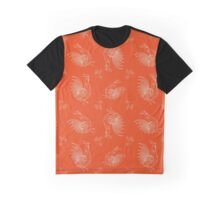 New Year Fantasy Roosters Graphic T-Shirt