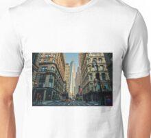 city road street buildings Unisex T-Shirt