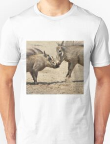 Warthog - Knockout Power from Africa Unisex T-Shirt