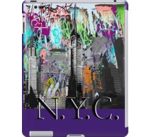 NYC street art iPad Case/Skin