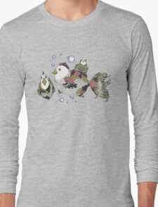 Chickens of the Sea Long Sleeve T-Shirt