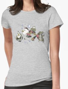 Chickens of the Sea Womens Fitted T-Shirt