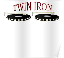 Twin Iron  Poster