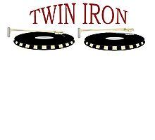 Twin Iron  Photographic Print