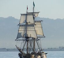 A Row with Lady Washington by Barrie Woodward
