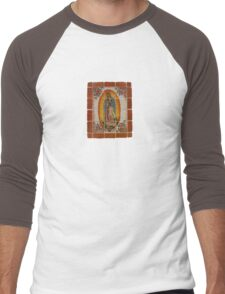 Lady of Guadalupe Men's Baseball ¾ T-Shirt