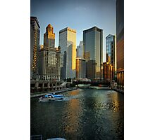 Chicago Evening Photographic Print