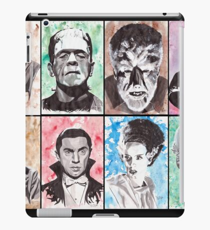 Classic Monster Collection iPad Case/Skin