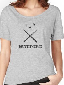 Watford School of Magicks, Simon Snow - Large Logo, black Women's Relaxed Fit T-Shirt