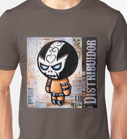 """Lucha BELLIES """"DEATH DEALER"""" POOTERBELLY Unisex T-Shirt"""