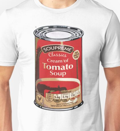 Soup Can by Aldi Warhol Unisex T-Shirt